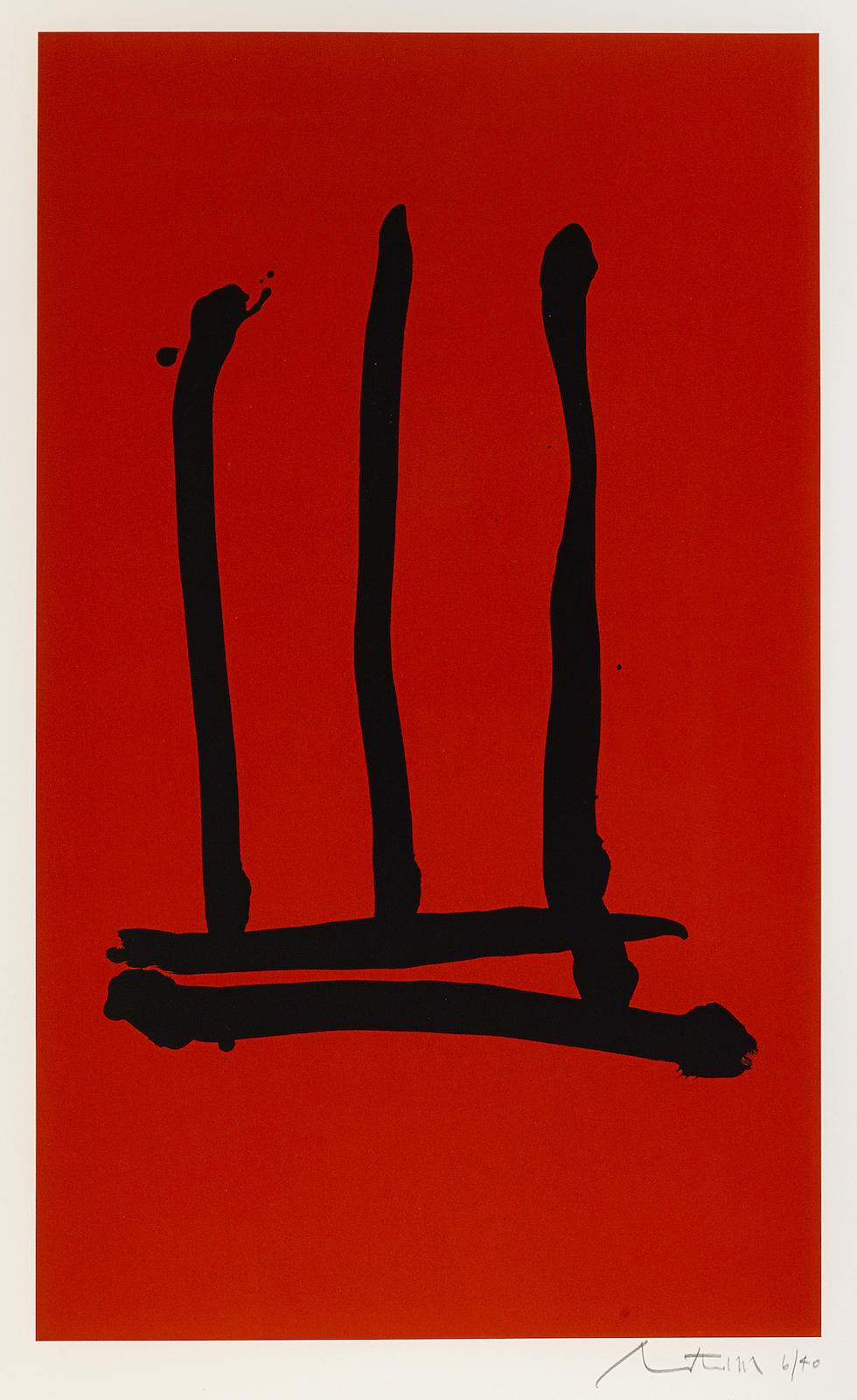 Robert Motherwell-Palo Alto (E./B. 218; G. 798)-1978