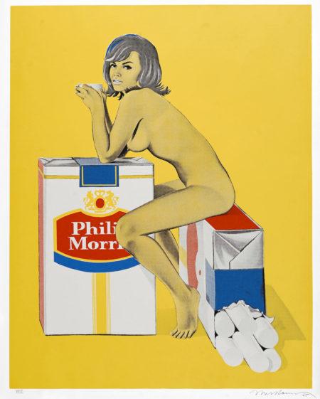 Mel Ramos-Tabacco Rhoda, from 11 Pop Artists, Vol. II (S. 41)-1965