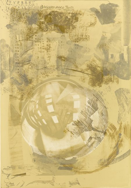 Robert Rauschenberg-Sack, from Stoned Moon Series (G. 166)-1969