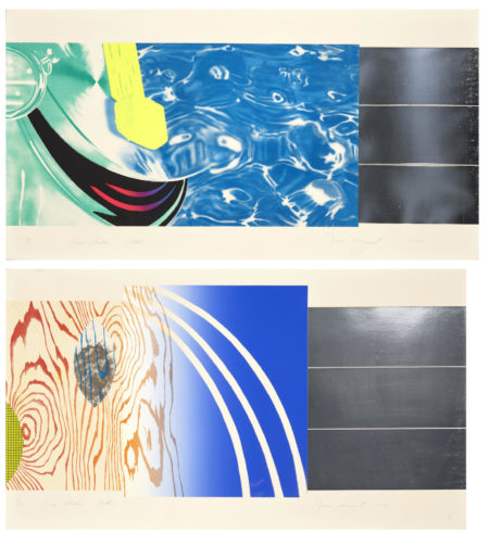 James Rosenquist-Horse Blinders (West, North, East, South)-1972