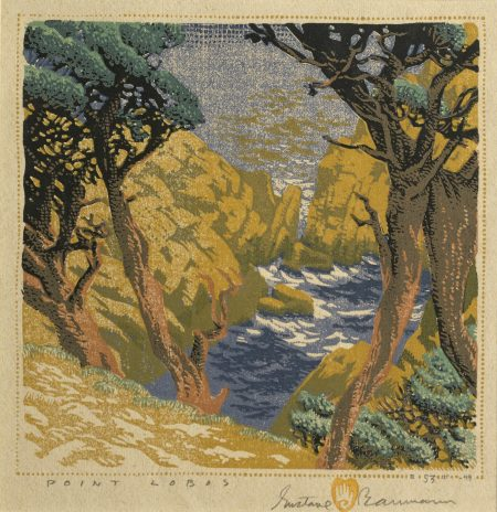 Gustave Baumann-Point Lobos (not in Acton)-1949