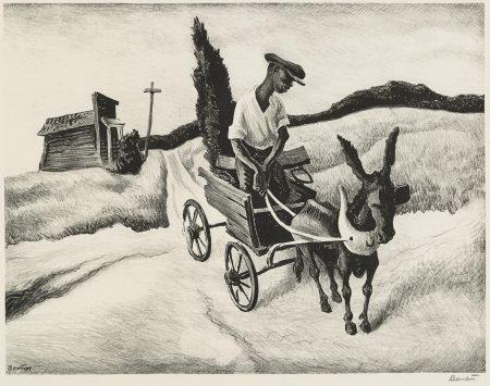 Thomas Hart Benton-Lonesome Road (F. 18)-1938
