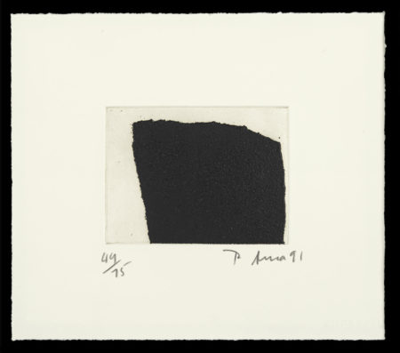 Richard Serra-#1 and #3, from Videy Afanger Series (G. 1510, 1512)-1991