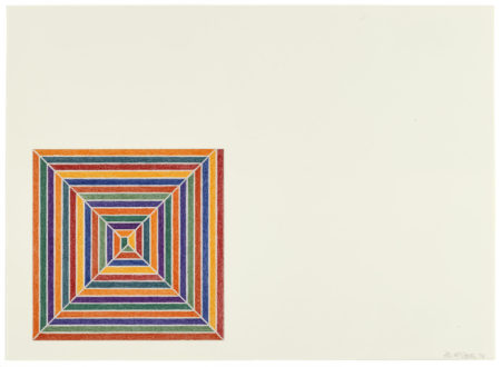 Frank Stella-Line Up, from Jasper's Dilemma (A. 85)-1973