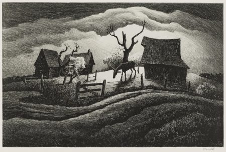 Thomas Hart Benton-Rainy Day (F. 23)-1938