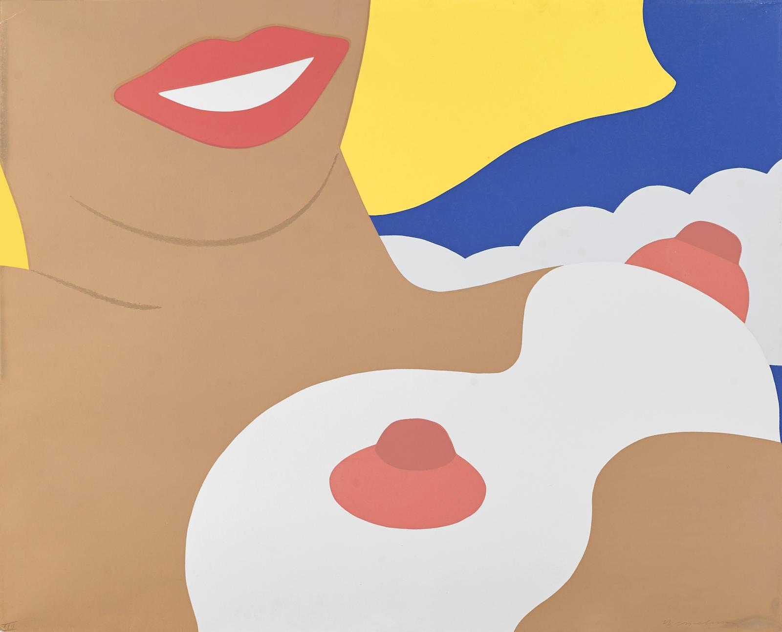 Tom Wesselmann-Nude, from 11 Pop Artists, Vol. II, 1965-1965