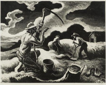 Thomas Hart Benton-Island Hay (F. 68)-1945