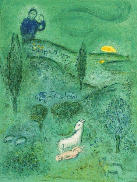 Marc Chagall-Daphnis et Chloé (M. 308-349; C. bk. 46)-1961