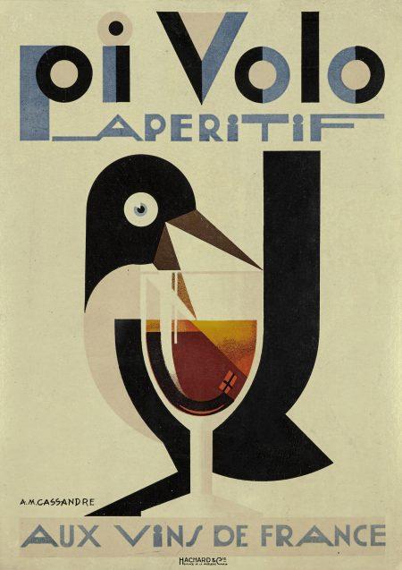 Adolphe Mouron Cassandre-Pivolo Aperitif (M. 2; B. 3)-1924
