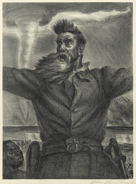 John Steuart Curry-John Brown (C. 34)-1940