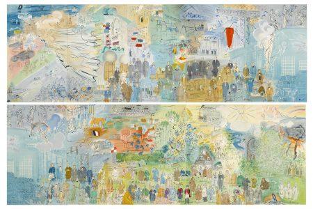 Raoul Dufy-After Raoul Dufy - La Fée Electricitée, 1953-1953