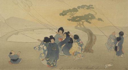 Kites; Wind and Rain; Temple Gate (G./P. 29; 37)-1912