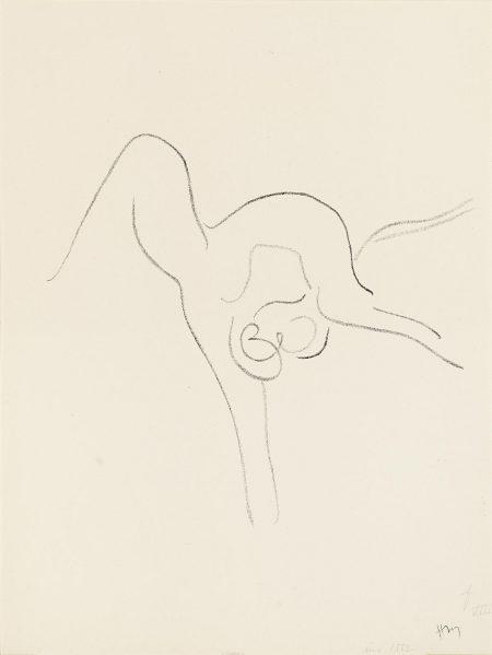 Henri Matisse-Danseuse Acrobate IX (D. 534)-1967
