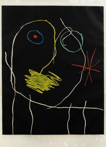Joan Miro-Le prophète de la nuit (D. 397)-1965