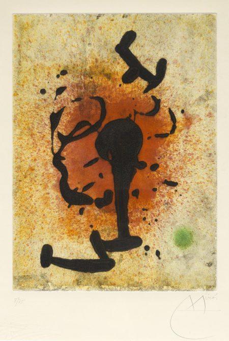 Joan Miro-Éclats (D. 449)-1968