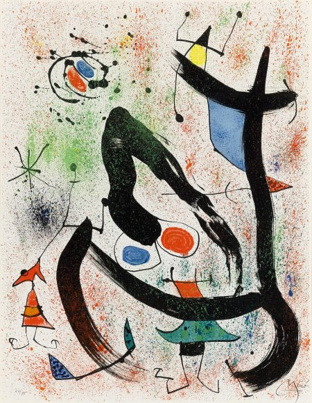 Joan Miro-The Seers IV (M. 664)-1970