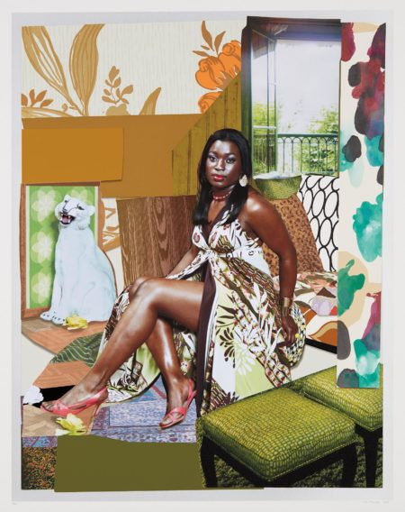 Mickalene Thomas-I Have Been Good to Me-2015