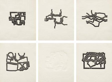 Eduardo Chillida-Mas Alla (Beyond)-1973