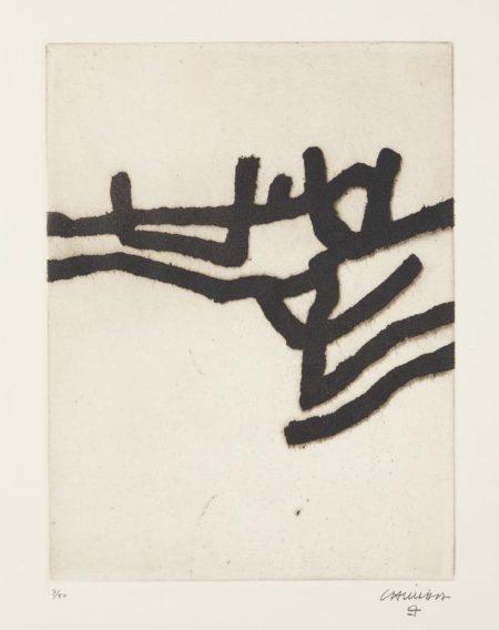 Eduardo Chillida-Ibili II (Walk II)-1963