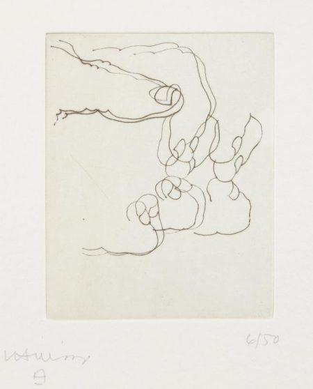 Eduardo Chillida-Esku XXX (Hand XXX)-1992
