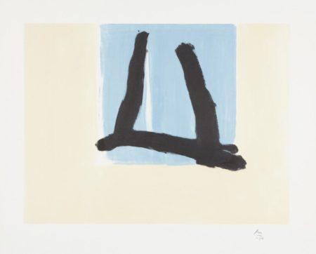 Robert Motherwell-Summer Sign-1990