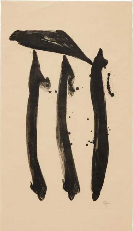 Robert Motherwell-El General, State I-1980