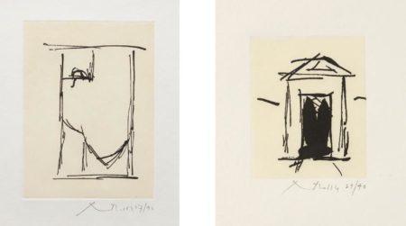Robert Motherwell-House of Atreus; and Espana II-1983