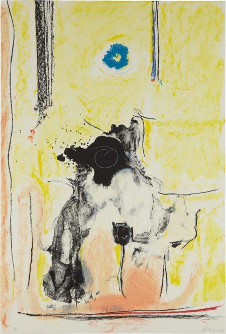 Helen Frankenthaler-Madame de Pompadour-1990