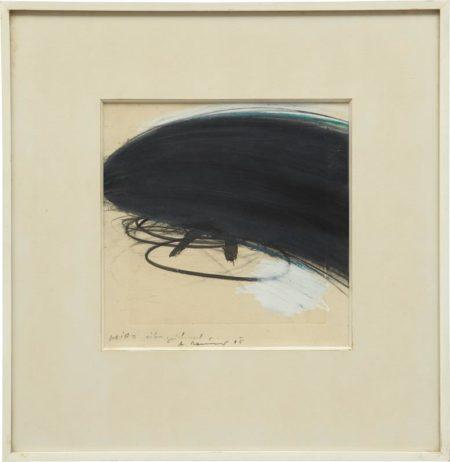 Arnulf Rainer-Miro Ubermalt-1965