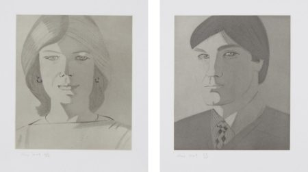 Alex Katz-Give Me Tomorrow: Two Plates-1983