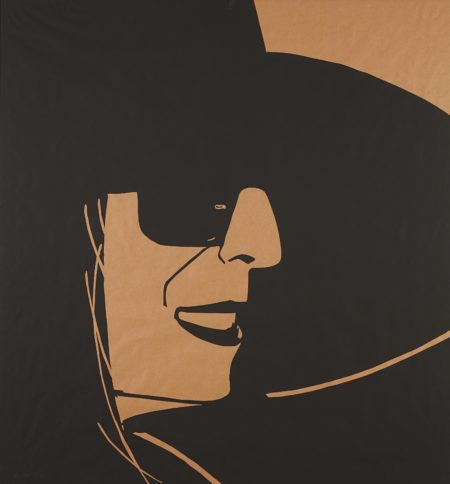 Alex Katz-Large Black Hat Ada 2-2013