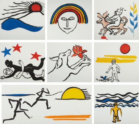Alexander Calder-The Sacrilege of Alan Kent-1976