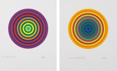 Julio Le Parc-Serie 15 No. 3; and No. 7-1972