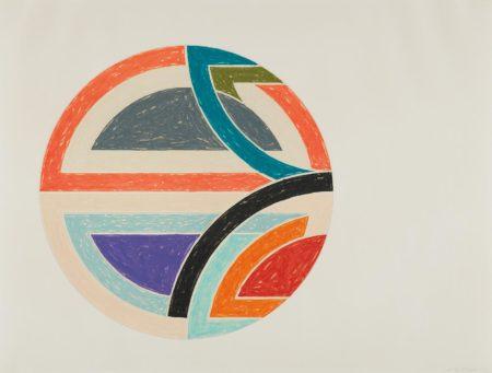 Frank Stella-Sinjerli Variation 1a, from Sinjerli Variations-1977