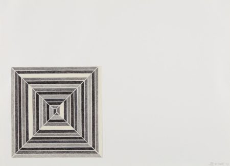 Frank Stella-Hyena Stomp, from Jasper's Dilemma-1973