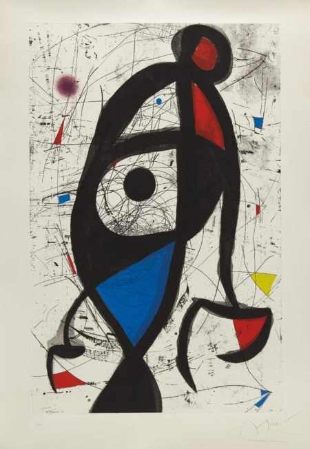 Joan Miro-La Contre-balancee (Counter-Balanced)-1975