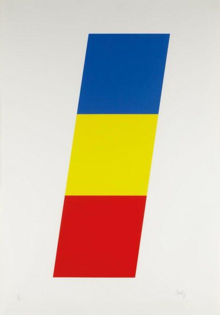 Ellsworth Kelly-Blue Yellow Red-1970