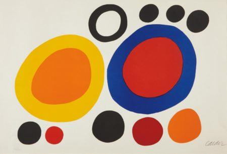 Alexander Calder-Rondelles de fumee (Smoke Rings)-1960