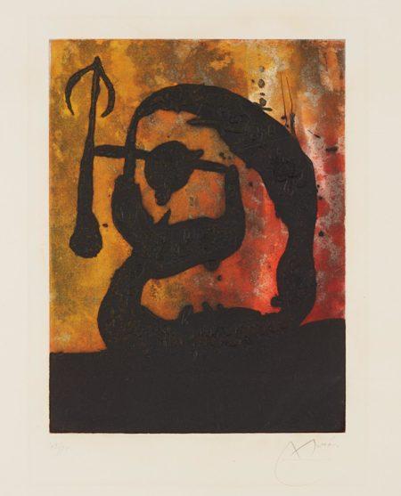 Joan Miro-Tete fleche (Arrowhead)-1968