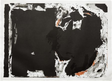 Robert Motherwell-Lament for Lorca-1982