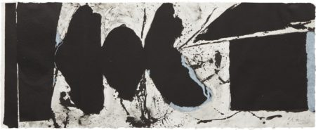 Robert Motherwell-Elegy Black Black-1983