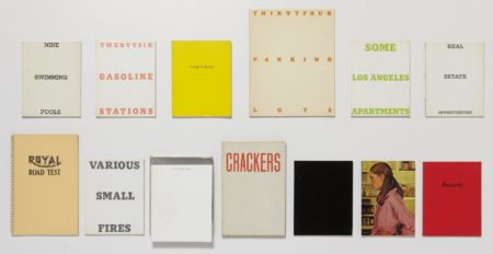 Ed Ruscha-A collection of thirteen artist's books-1978