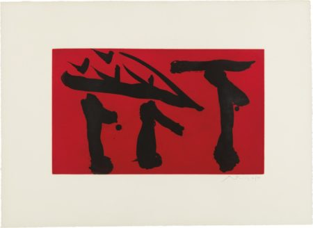 Robert Motherwell-Pull Out All Flags-1980