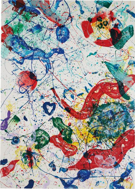 Sam Francis-Untitled-1986