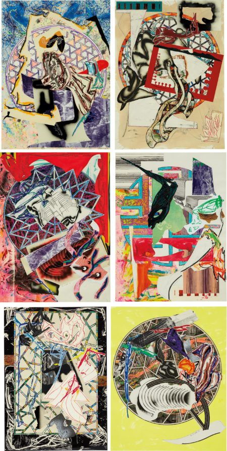 Frank Stella-Waves I-1989