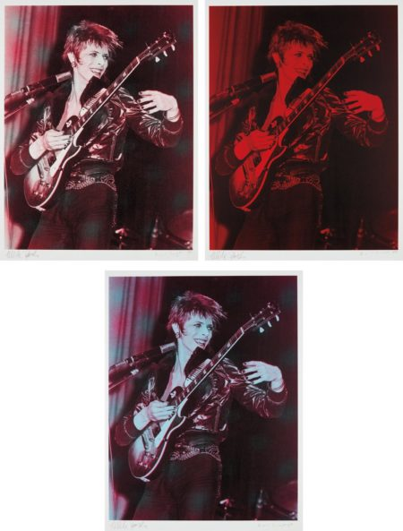 Mick Rock-Russell Young-David Bowie: Three Prints-2008