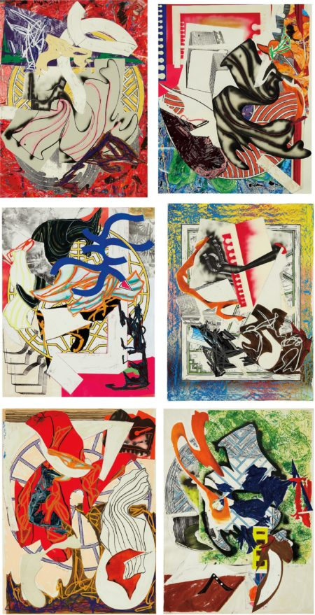 Frank Stella-Waves II: Six Prints-1989
