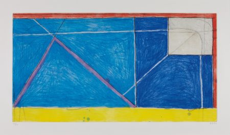 Richard Diebenkorn-Red-Yellow-Blue-1986