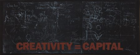 Joseph Beuys-New York Subway Poster (Creativity=Capital)-1983
