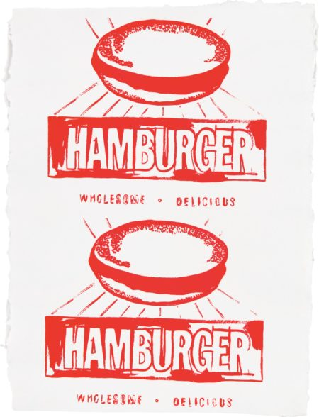 Andy Warhol-Hamburger (Double)-1986